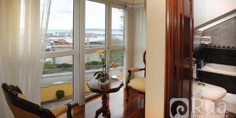 Chalet Coruña, casco urbano, vistas al mar