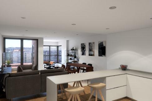promoción pisos nueva construcción en Cuatro Caminos