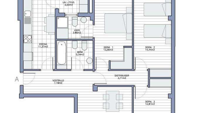 Promoción pisos Cambre 1 a 4 habitaciones