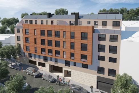 promoción pisos Cambre, 1-2-3-4 habitaciones, trastero, garaje opcional
