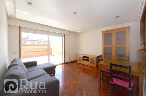piso alquiler A Coruña, 2 habitaciones, terraza, garaje, Eirís
