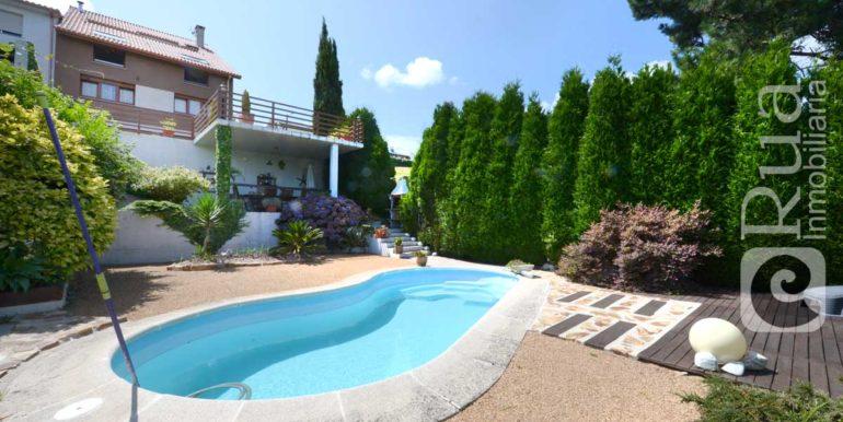 Chalet Montrove, 4 habitaciones, 2 salones, sala, 4 baños, piscina