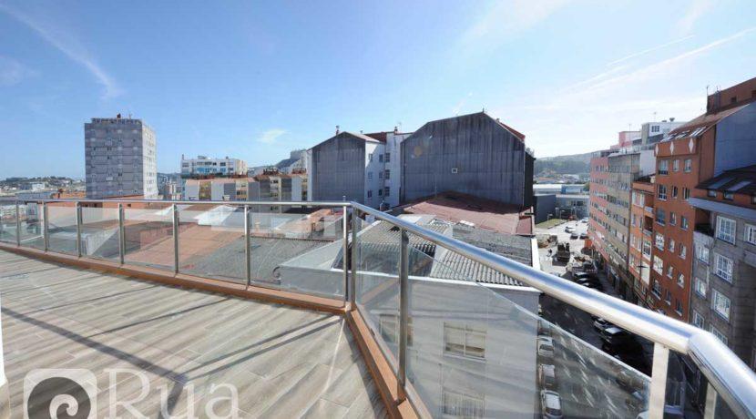 piso venta Coruña, estrenar, terraza, 3 habitaciones, 2 baños, 3 garajes, Os Mallos