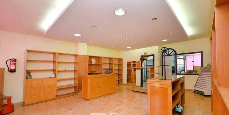 alquiler bajo comercial Fonteculler, acondicionado, 60 m2