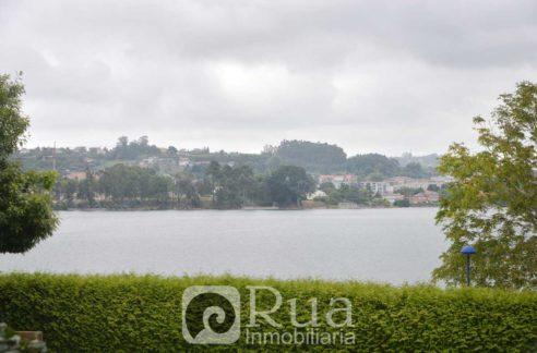 bajo con jardín venta A Coruña, zonas comunes, vistas al mar