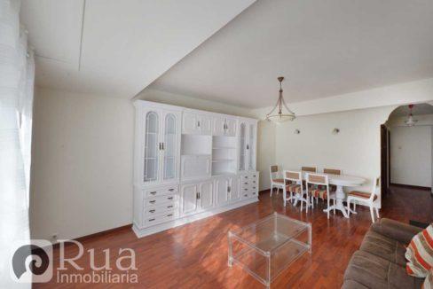 piso alquiler Coruña, opcional garaje, 2 habitaciones, salón, amueblado