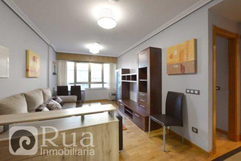 alquiler piso Coruña, Montealto, 2 habitaciones, amueblado, ascensor